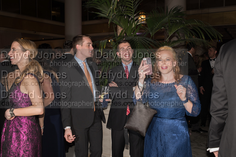 PEARCE CROSLAND; HAYDEN CHAPLE; MARGIE ANDERSON, , Washingtonian Inaugural Ball,  National'Portrait'Gallery'and'Smithsonian'American'Art' Museum<br />   Washington DC. 21 January 2017