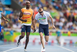 Timothy ADOLPHE, FRA, Athletisme, Athletics, 100m - T11 at Rio 2016 Paralympic Games, Brazil