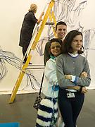 TANYA LING; FREDDIE TALBOT; BIP LING; EVANGELINA LING Art16. Olympia. 19 May 2016