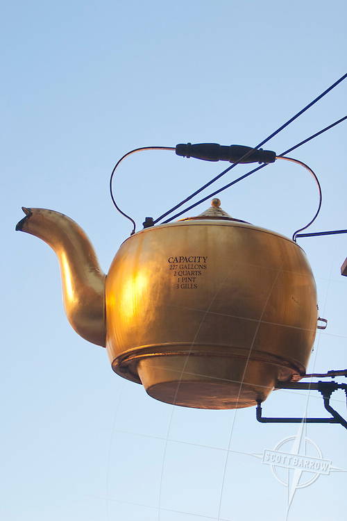The Steaming Kettle in Boston, MA holds 227 gallons