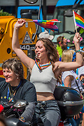 Dykes on Bikes - The annual London Gay Pride march heads from Oxford Circus to Trafalgar Square.