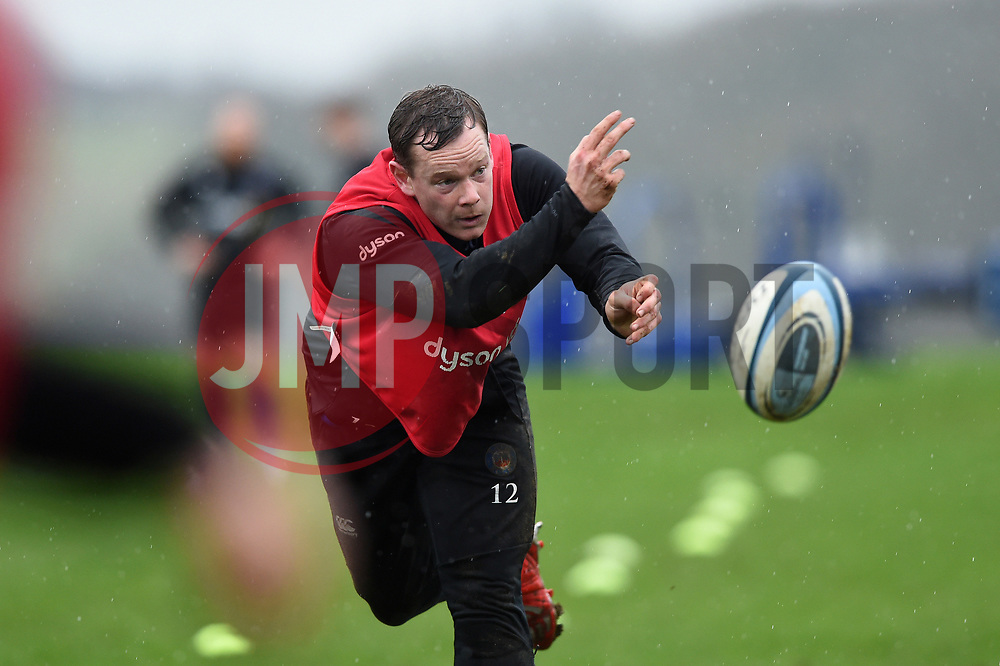 Chris Cook in action - Mandatory byline: Patrick Khachfe/JMP - 07966 386802 - 16/01/2020 - RUGBY UNION - Farleigh House - Bath, England - Bath Rugby Training Session