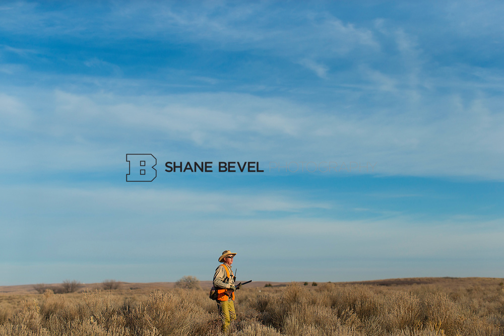 12/8/12 10:03:36 AM -- Quail hunting on the Cimarron Hills WMA in western Oklahoma. <br /> <br /> Photo by Shane Bevel