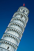 The Leaning Tower of Pisa, Torre pendente di Pisa, campanile freestanding bell tower of the Cathedral of Pisa, Italy RESERVED USE - NOT FOR DOWNLOAD - FOR USE CONTACT TIM GRAHAM