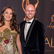 NLD/Scheveningen/20180124 - Musical Award Gala 2018, Esmee Dekker en partner