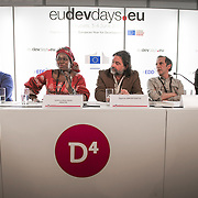 03 June 2015 - Belgium - Brussels - European Development Days - EDD - Migration - Migration and development - Role of diaspora in the development of the country of origin - Sokhna Nata Samb Mbacke ,  Administrator , Fonds d'Appui à l'Investissement Des Senegalais de l'Exterieur (FAISE) © European Union