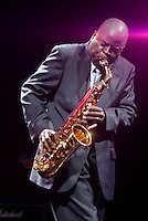 Maceo Parker performing at The openning night of Celebrate Brooklyn in Prospect Park on June 15, 2006..Celebration.