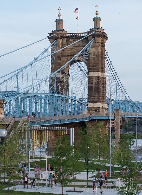 Roebling Bridge in Cincinnati