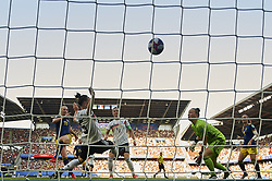 June 29, 2019 - Rennes, France - Stina Blackstenius (Linkopings FC) of Sweden shooting to goal during the 2019 FIFA Women's World Cup France Quarter Final match between Germany and Sweden at Roazhon Park on June 29, 2019 in Rennes, France. (Credit Image: © Jose Breton/NurPhoto via ZUMA Press)