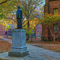 New England fall foliage framing the iconic Harkness Tower at Yale University in New Haven, Connecticut. <br /> <br /> Connecticut architecture photography images are available as museum quality photography prints, canvas prints, acrylic prints or metal prints. Prints may be framed and matted to the individual liking and decorating needs at:<br /> <br /> https://juergen-roth.pixels.com/featured/yale-university-juergen-roth.html<br /> <br /> All high resolution Connecticut photography images are available for photo image licensing at www.RothGalleries.com. Please contact me direct with any questions or request. <br /> <br /> Good light and happy photo making!<br /> <br /> My best,<br /> <br /> Juergen<br /> Prints: http://www.rothgalleries.com<br /> Photo Blog: http://whereintheworldisjuergen.blogspot.com<br /> Instagram: https://www.instagram.com/rothgalleries<br /> Twitter: https://twitter.com/naturefineart<br /> Facebook: https://www.facebook.com/naturefineart