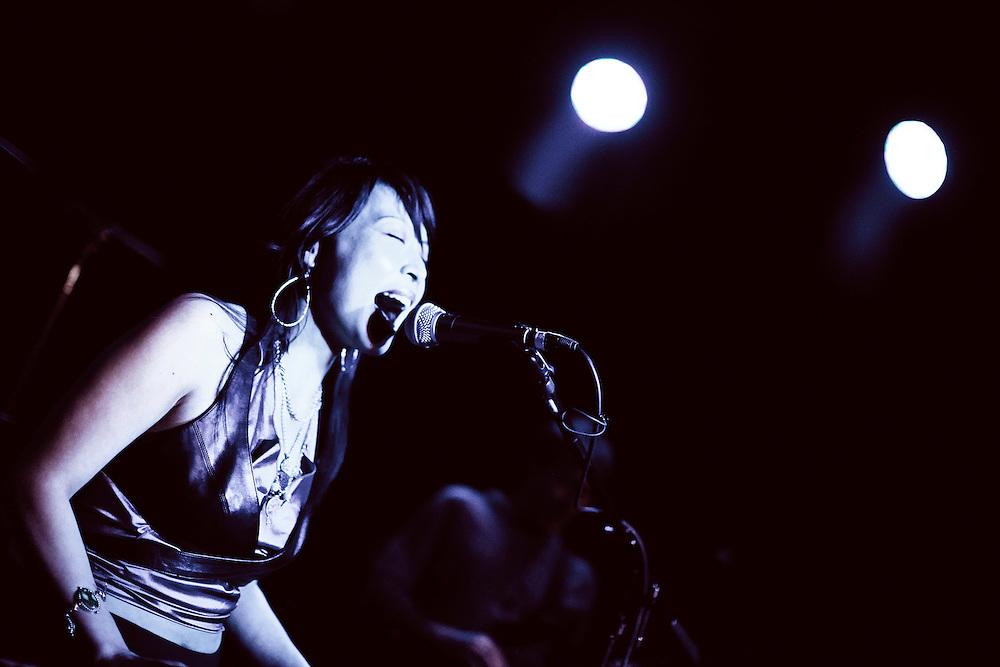 Vinci & Her Groove Sector perform at The Boom Boom Room in San Francisco, CA.  Copyright 2012 Reid McNally.