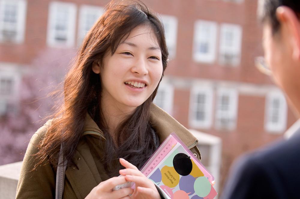 Campus Spring...Tadashi Shiozawa.& Miki Tanaka