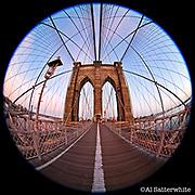 Brooklyn Bridge  •  looking East towards Manhattan