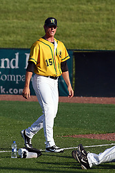 18 May 2012:  Josh Joseph during a Frontier League Baseball game between the Windy City Thunderbolts and the Normal CornBelters at Corn Crib Stadium on the campus of Heartland Community College in Normal Illinois