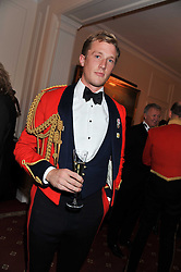 CAPTAIN CHARLES PEARSON at a dinner in aid of Caring For Courage - The Royal Scots Dragoon Guards Afghanistan Welfare Appeal held at The Royal Hospital Chelsea, London SW3 on 20th October 2011.