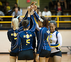 2013 A&T Volleyball vs Various Non Conference Teams (UNCC, Campbell & Elon)