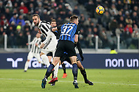 09.12.2017 - Torino - Serie A 2017/18 - 16a giornata  -  Juventus-Inter nella  foto: Milan Skriniar in lotta con Gonzalo Higuain