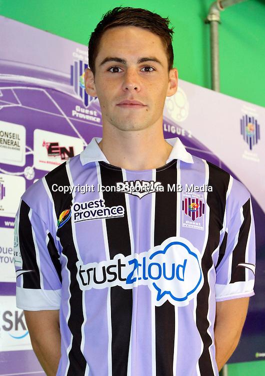 Vincent LE GOFF - 17.09.2013 - Photo Officielle Istres - Ligue 2<br /> Photo : Icon Sport