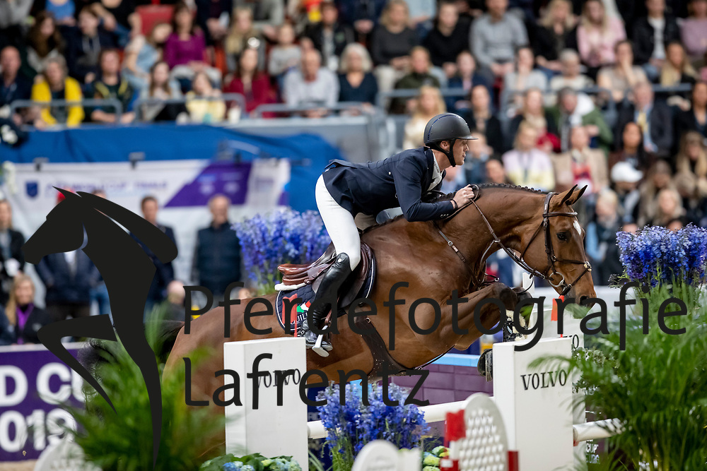 BRUYNSEELS Niels (BEL), Delux van T & L<br /> Göteborg - Gothenburg Horse Show 2019 <br /> Longines FEI World Cup™ Final II<br /> Int. jumping competition with jump-off (1.50 - 1.60 m)<br /> Longines FEI Jumping World Cup™ Final and FEI Dressage World Cup™ Final<br /> 05. April 2019<br /> © www.sportfotos-lafrentz.de/Stefan Lafrentz