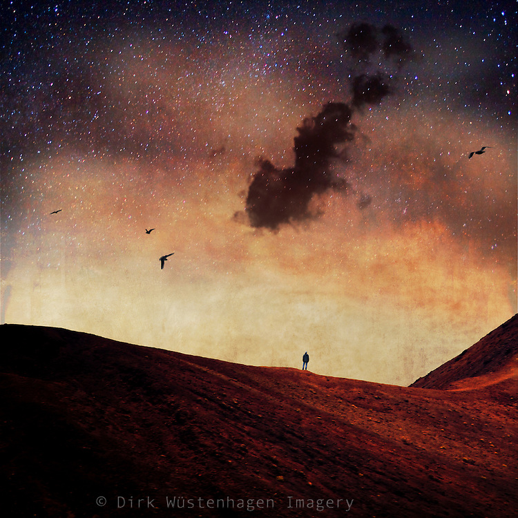 Surreal dreamy landscape<br />