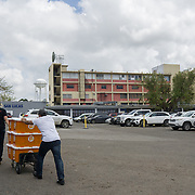 OCTOBER 6, 2017--PONCE, PUERTO RICO ---<br /> San Lucas Hospital about to receive medical supplies from Direct Relief following the path of Hurricane Maria through Puerto Rico.<br /> (Photo by Angel Valentin/Freelance)