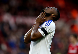 Victor Anichebe of Sunderland cuts a frustrated figure - Mandatory by-line: Robbie Stephenson/JMP - 26/04/2017 - FOOTBALL - Riverside Stadium - Middlesbrough, England - Middlesbrough v Sunderland - Premier League