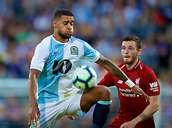 BLACKBURN, ENGLAND - Thursday, July 19, 2018: Blackburn Rovers' Joe Nuttall during a preseason friendly match between Blackburn Rovers FC and Liverpool FC at Ewood Park. (Pic by David Rawcliffe/Propaganda)