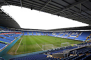 Madejski Stadium before kick off of the Sky Bet Championship match between Reading and Bristol City at the Madejski Stadium, Reading, England on 2 January 2016. Photo by Jemma Phillips.