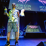 SILVER SPRING, MD - April 24th, 2014 - Riff Raff performs at the Fillmore Silver Spring in Silver Spring, MD. His sophomore album, Neon Icon, is scheduled to be released next week. (Photo by Kyle Gustafson / For The Washington Post)