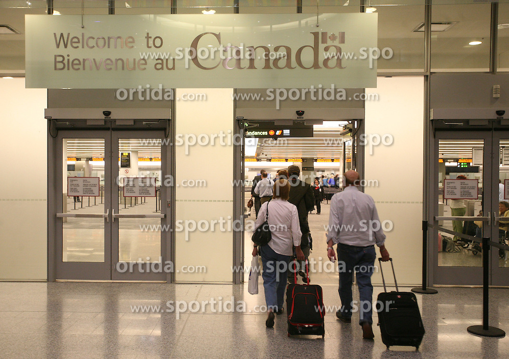 Welcome in Canada and  in Toronto,  on May 01, 2008, Halifax, Canada.  (Photo by Vid Ponikvar / Sportal Images)