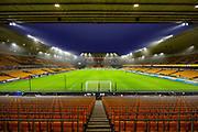 General view of Molineux ahead of the Premier League match between Wolverhampton Wanderers and Liverpool at Molineux, Wolverhampton, England on 23 January 2020.