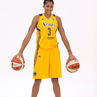 Los Angeles Sparks forward/center Candace Parker (3)