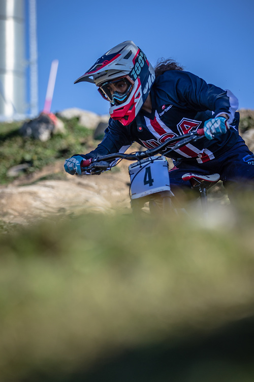 Samantha Soriano (USA) at the 2018 UCI MTB World Championships - Lenzerheide, Switzerland
