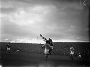 "20/10/1957<br /> 10/20/1957<br /> 20 October 1957<br /> Soccer International ""B"" match: Ireland v Romania at Dalymount Park, Dublin."