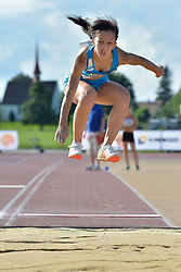 06/08/2017; Paciolla, Margherita, T13, ITA at 2017 World Para Athletics Junior Championships, Nottwil, Switzerland