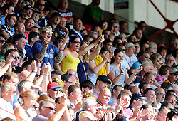 Bristol fans - Photo mandatory by-line: Joe Meredith/JMP - Mobile: 07966 386802 - 7/09/14 - SPORT - RUGBY - Bristol - Ashton Gate - Bristol Rugby v Worcester Warriors - The Rugby Championship