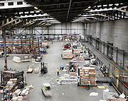 AEROTROPOLIS, AMSTERDAM SEPTEMBER 2015<br />The 'cargo' runways and halls of Schiphol, with its logistics center that redistribute bundles of flowers throughout Europe.<br /> @Giulio Di Sturco