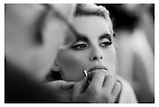 Backstage photography for givenchy make up. Artd director Nicolas degennes.<br />