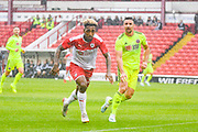 Barnsley Mallik Wilks (36) in action during the Pre-Season Friendly match between Barnsley and Sheffield United at Oakwell, Barnsley, England on 27 July 2019.