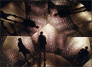 Visitors to the Chabot Space &amp; Science Center in Oakland can enjoy a variety of hands-on and walk-through displays including the mirrored Hubble Kaleidoscope hallway. <br />Samanda Dorger/Napa Valley Register<br />First-Feature Single/October 2000