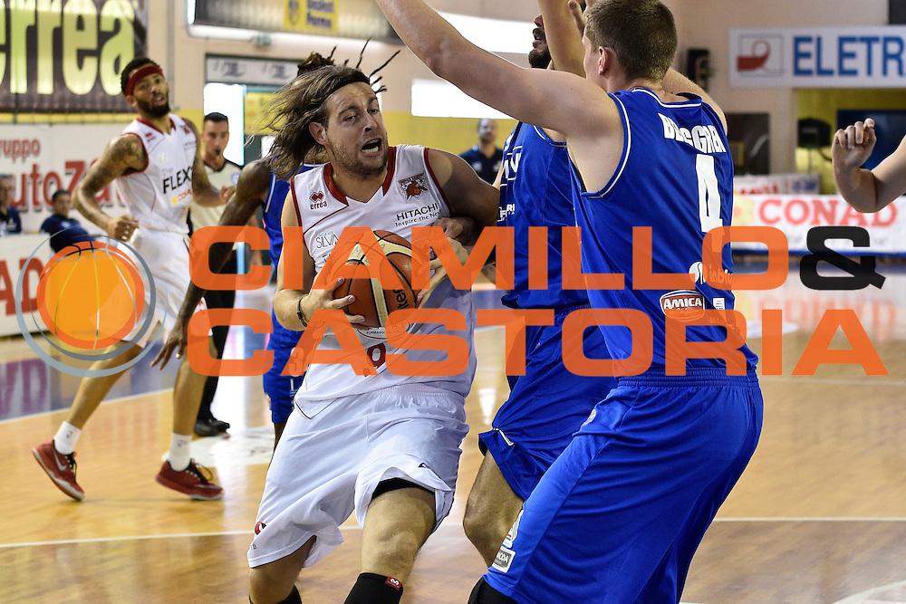 Antonutti Michele<br /> Germani Basket Brescia - The Flexx Pistoia<br /> Lega Basket Serie A 2016/2017<br /> Parma 09/09/2016<br /> Foto Ciamillo-Castoria