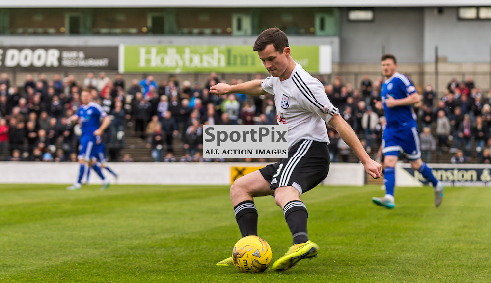 Paddy Boyle in action during the Scottish League 1 fixture between Ayr Utd and Peterhead (c) ROSS EAGLESHAM   Sportpix.co.uk