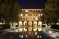 Beckman Institute and Pond at CalTech, Pasadena, California