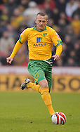 Sheffield - Saturday January 9th, 2009: Sammy Clingan of Norwich City during the Coca Cola Championship match at Bramall Lane, Sheffield. (Pic by Alex Broadway/Focus Images)