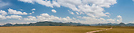 A panoramic of the Kanuku Mountains.
