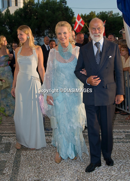 "PRINCE NIKOLAOS AND TATIANA BLATNIK WEDDING_Lady Gabriella Windsor with parents Prince and Princess Michael of Kent.St Nikolaos Church, Spetses, Greece_25/08/2010.Mandatory Credit Photo: ©DIASIMAGES..**ALL FEES PAYABLE TO: ""NEWSPIX INTERNATIONAL""**..IMMEDIATE CONFIRMATION OF USAGE REQUIRED:.Newspix International, 31 Chinnery Hill, Bishop's Stortford, ENGLAND CM23 3PS.Tel:+441279 324672  ; Fax: +441279656877.Mobile:  07775681153.e-mail: info@newspixinternational.co.uk"