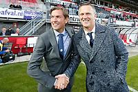 coach Alex Pastoor of Sparta Rotterdam, coach John van den Brom of AZ Alkmaar