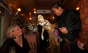 Puppet performance, E&O express,Thailand