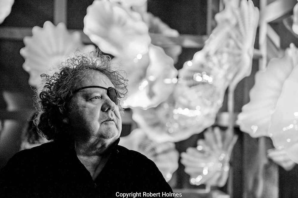 Dale Chihuly, artist, glass sculptor