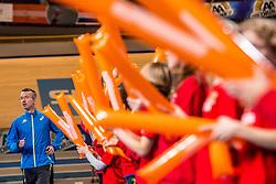 11-02-2017 NED: AA Drink NK Indoor, Apeldoorn<br /> AA drink talent - Bart van Nunen